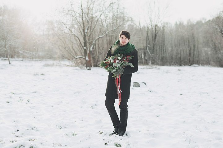 Christmas winter wedding | fabmood.com #wedding #winterwedding #christmas #christmaswedding