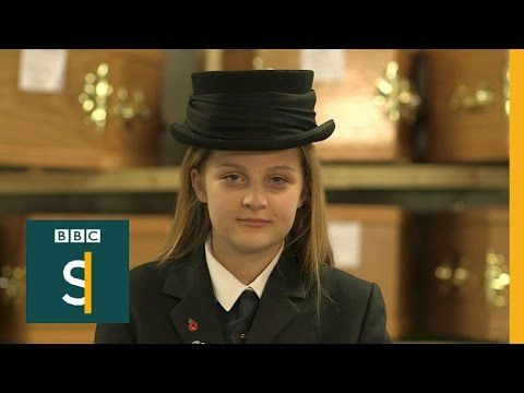 The 12-year-old trainee funeral director - BBC Stories Word Up - mortician job description