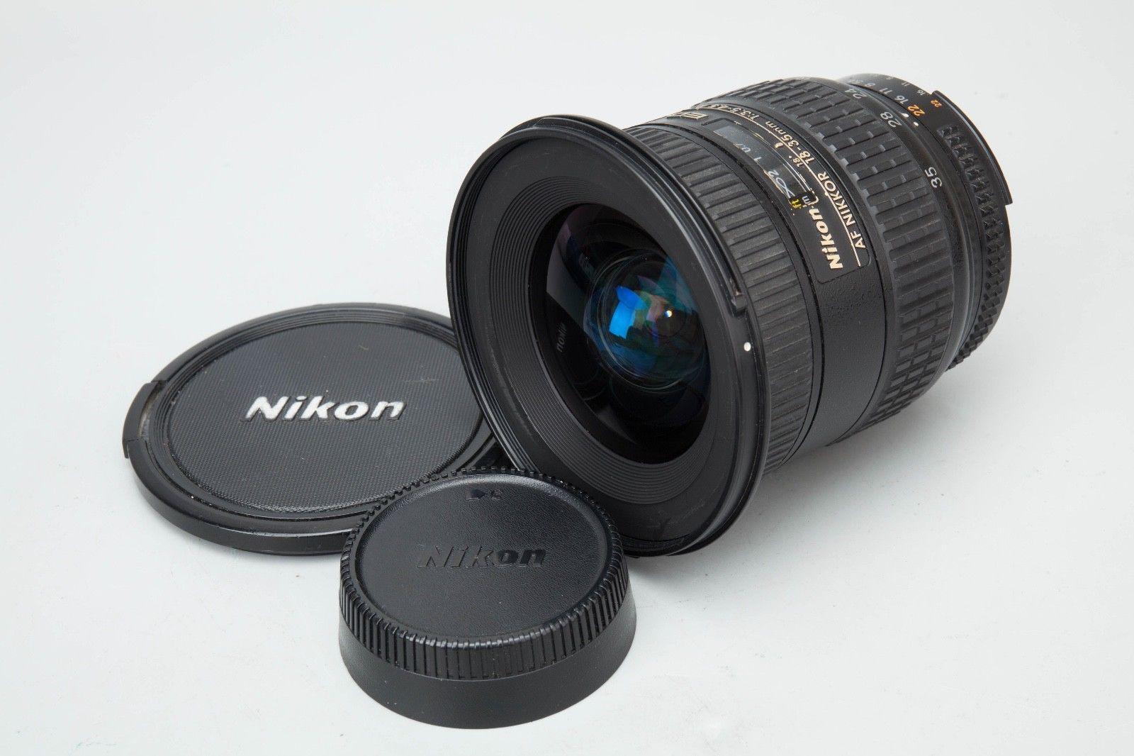 Nikon Af Nikkor 18 35mm F 3 5 4 5 D If Ed Lens For D7200 D750 D800 D810 F Mount Stuff To Buy Electronic Products Nikon