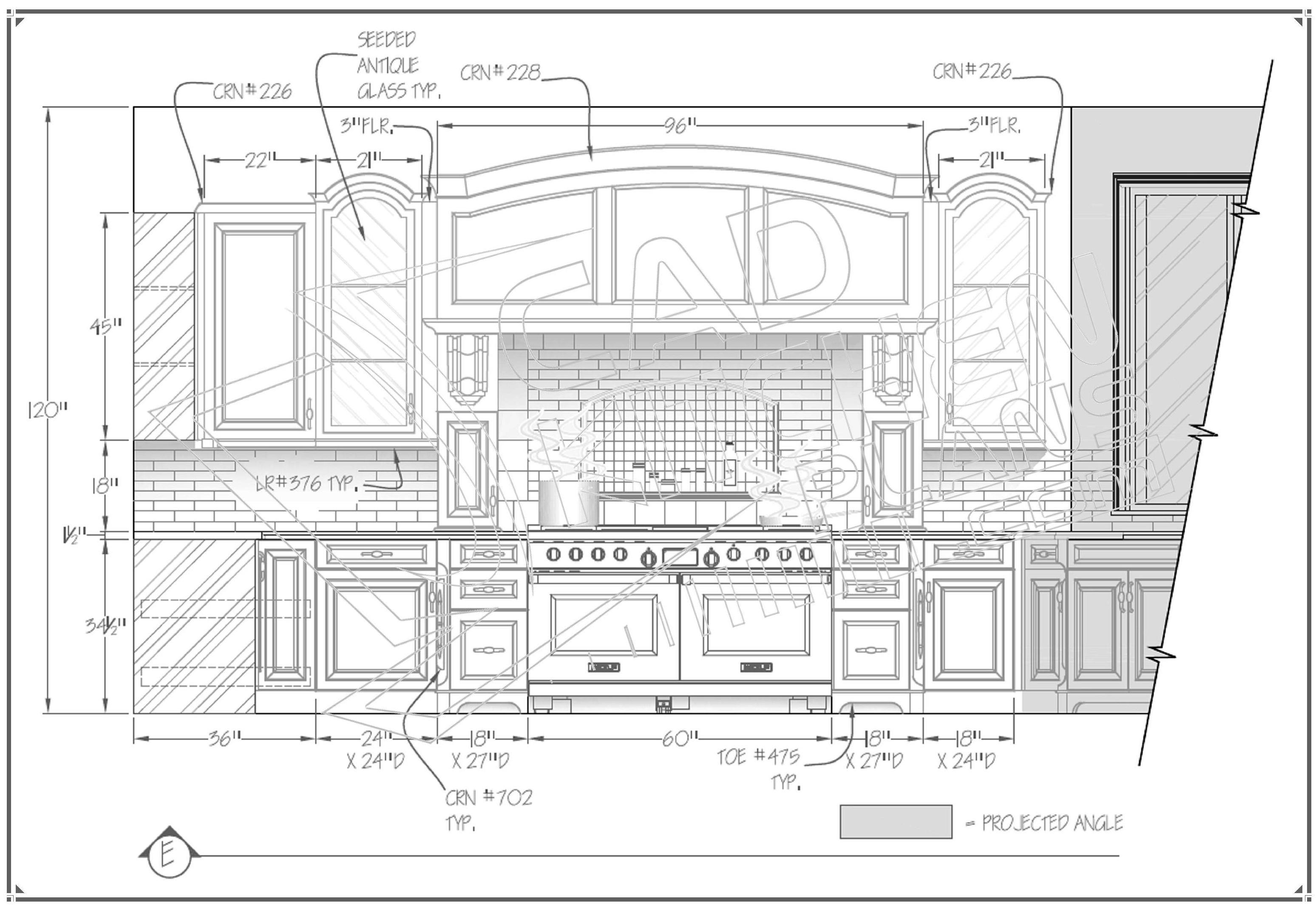 Autocad Küche Design Es gibt keinen Menschen, der nicht eine Küche ...
