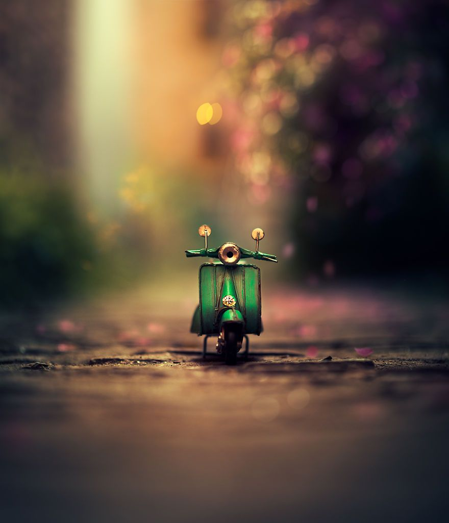 I Create Whimsical Images Using Miniature Model Cars Photography Wallpaper Cool Pictures For Wallpaper Miniature Photography