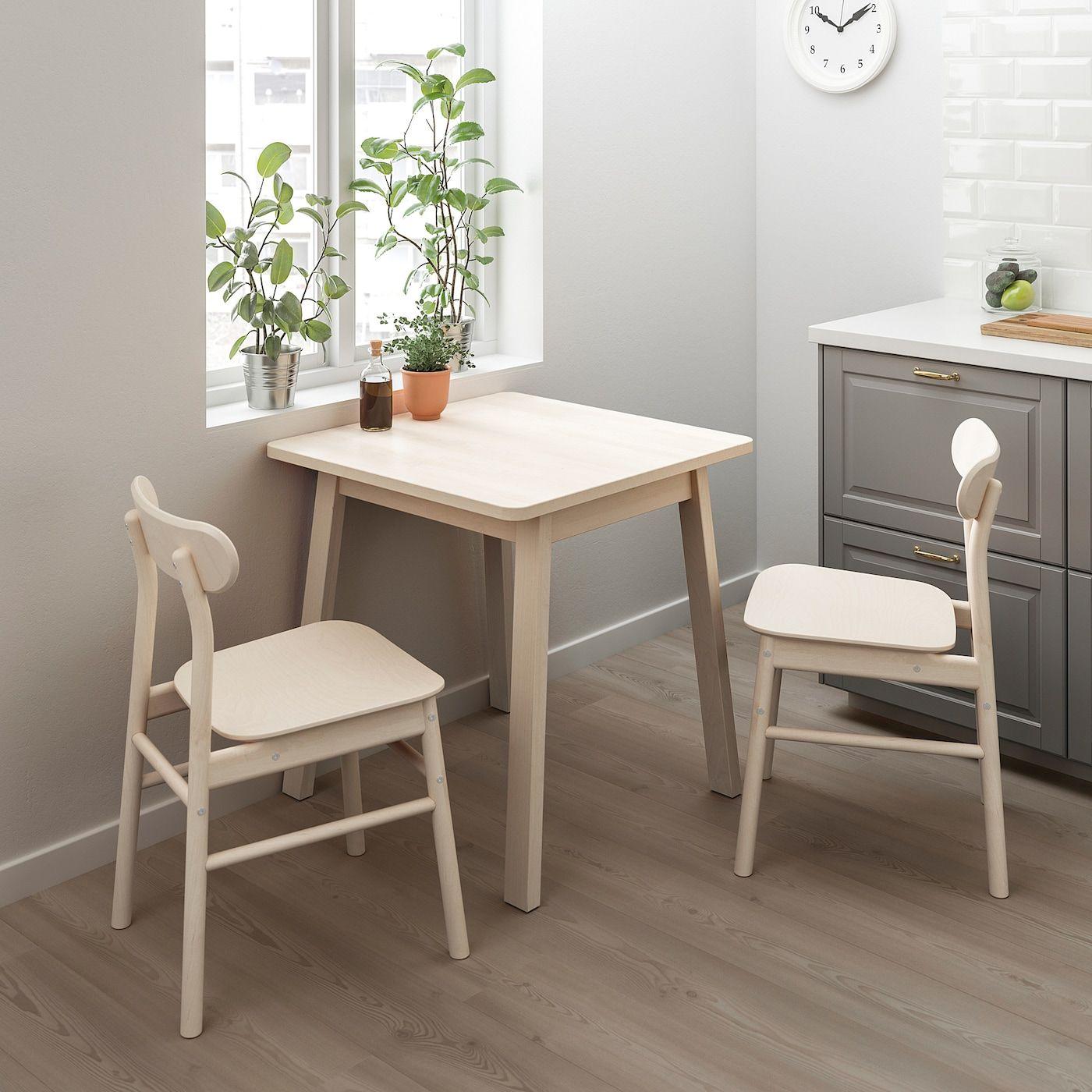 IKEA NORRAKER Birch Table Small kitchen tables, Ikea, Table