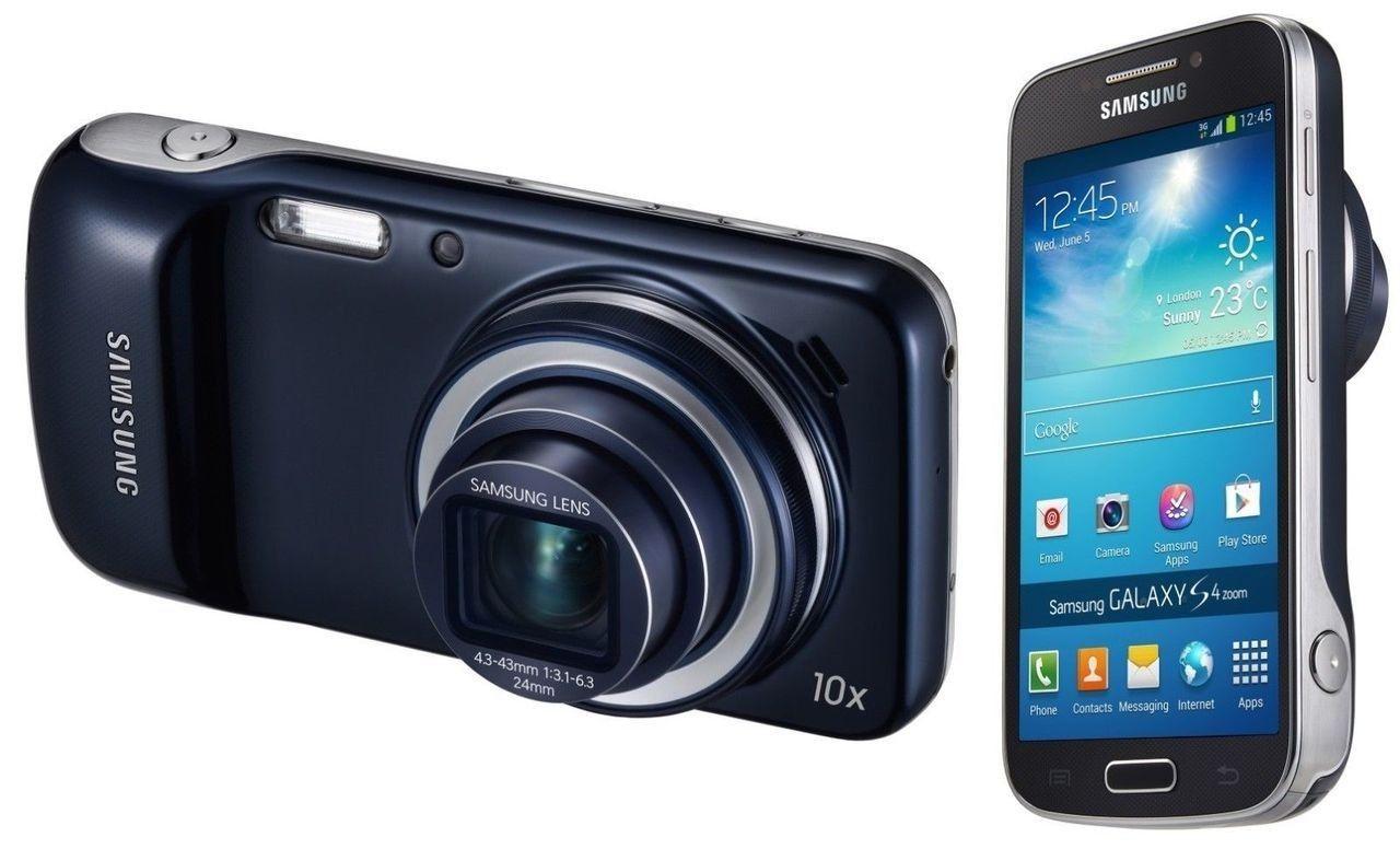Samsung C105 Galaxy S4 Zoom Black 8GB 4G LTE Android