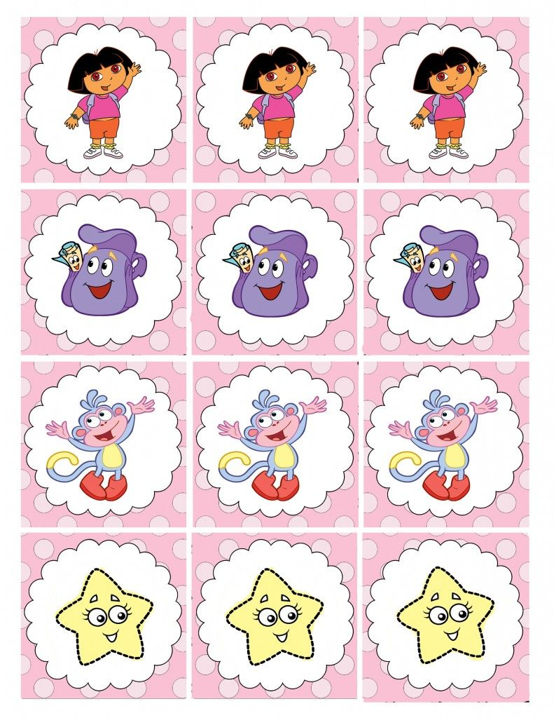 Dora party printables – Printable Dora Birthday Invitations
