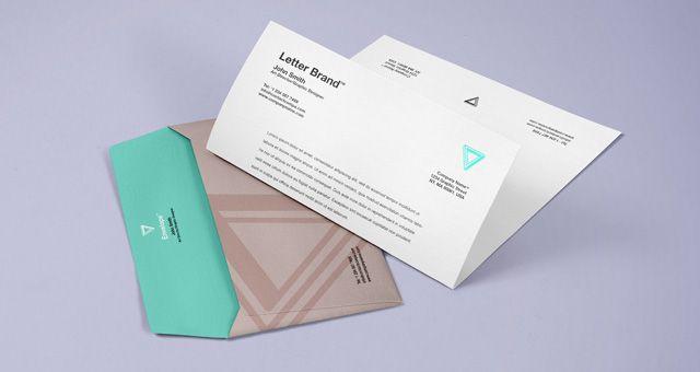 Envelope Letter Psd Branding Mockup Psd Mock Up Templates Branding Mockups Psd Branding Mockups Free Stationery Mockup