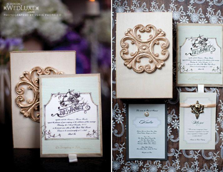 Wedluxe Magazine Wedding Invitations Stationery Box Wedding Invitations Modern Classic Wedding Invitations