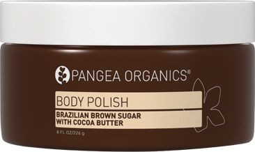 Do you love #cocoabutter? #pangeaorganics #brazilian brown sugar and cocoa butter #bodypolish  Great for exfoliating, body, feet, and hands!
