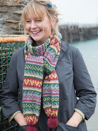 DAWA from More Easy Fairisle Knits by Martin Storey features 13 ...