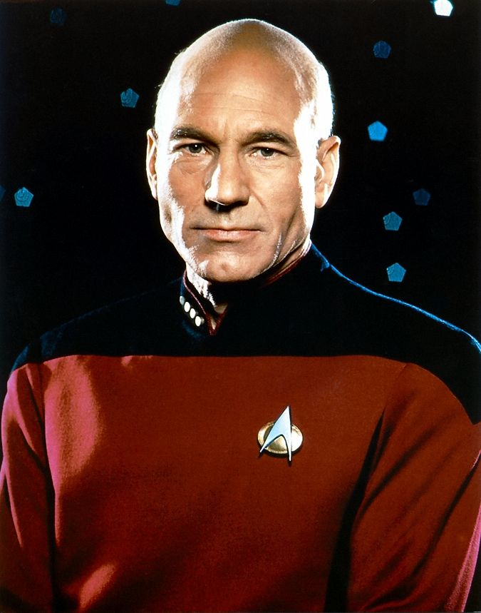 Jean Luc Picard Sometimes It Helps To Have A Wise Thoughtful