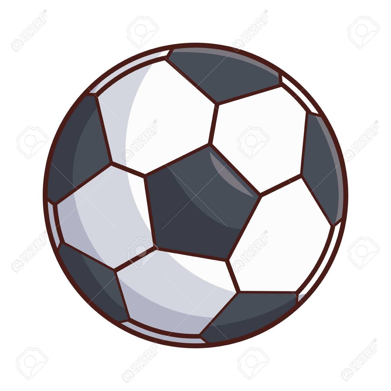 Soccer Ball Cartoon Vector Illustration Graphic Design Illustration Aff Cartoon Vector Socc With Images Graphic Design Illustration Illustration Design Art Design