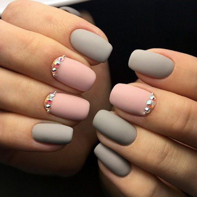 I love matte nails! You can make a matte nail polish coat with clear ...