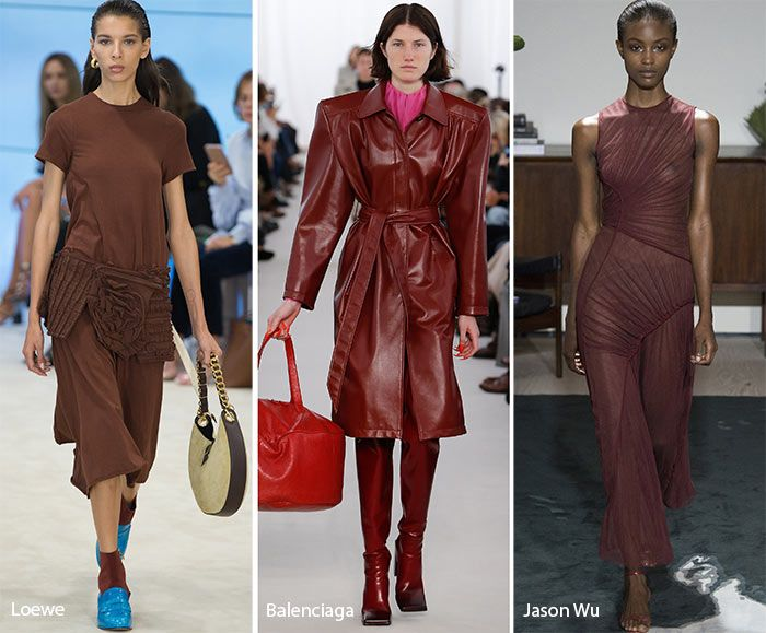 Spring/ Summer 2017 Color Trends: Cognac Brown-corresponds with makeup/lipstick trends