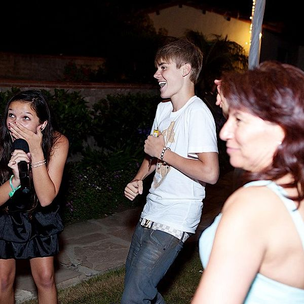 Justin Bieber And Selena Gomez Wedding Crashers. Image