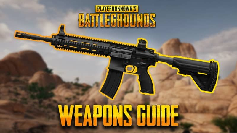 What are the best guns in PUBG Mobile Game? | PUBG Art in