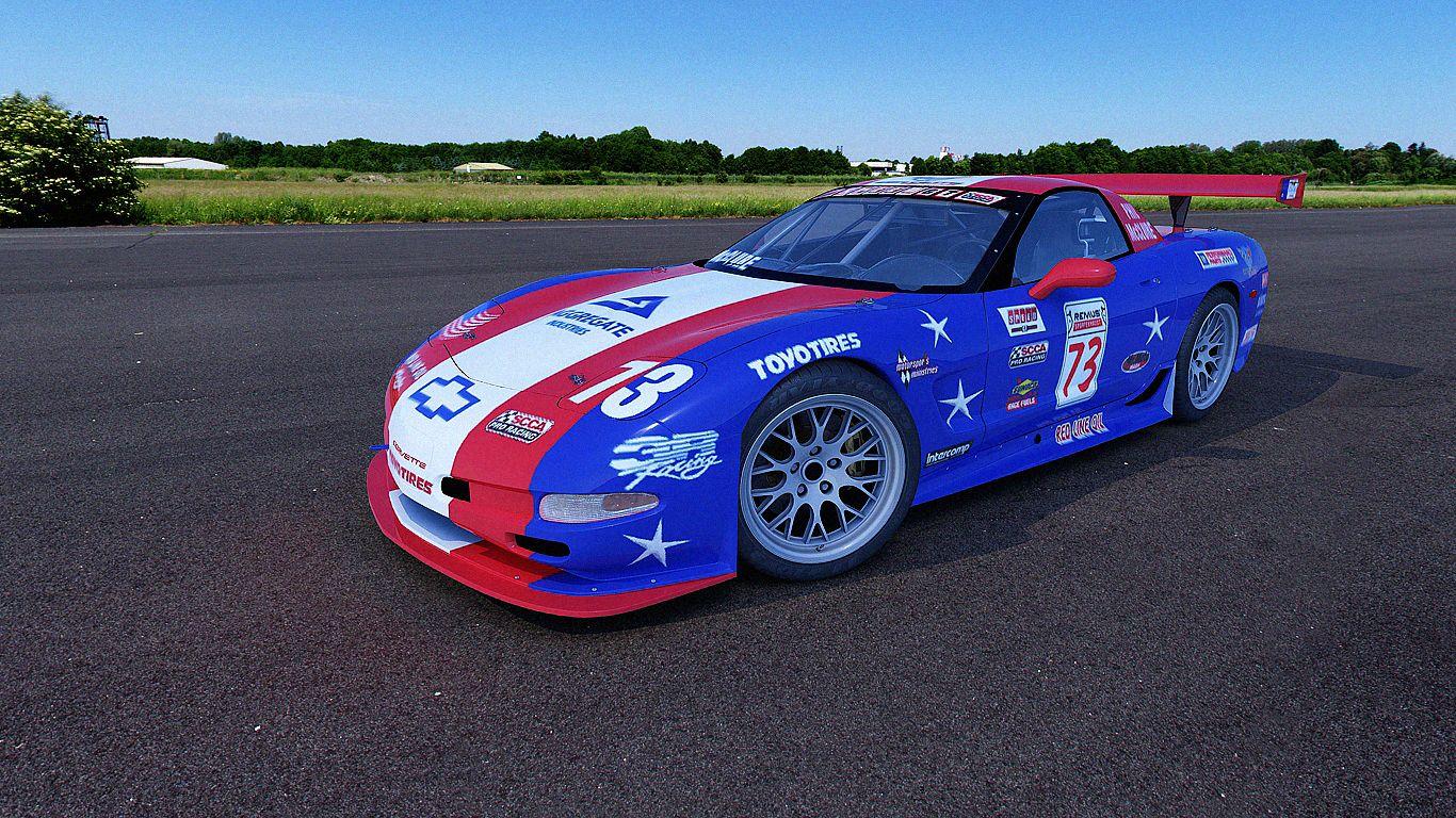 2003 Chevrolet Corvette Z06 73 3r Racing Caribe