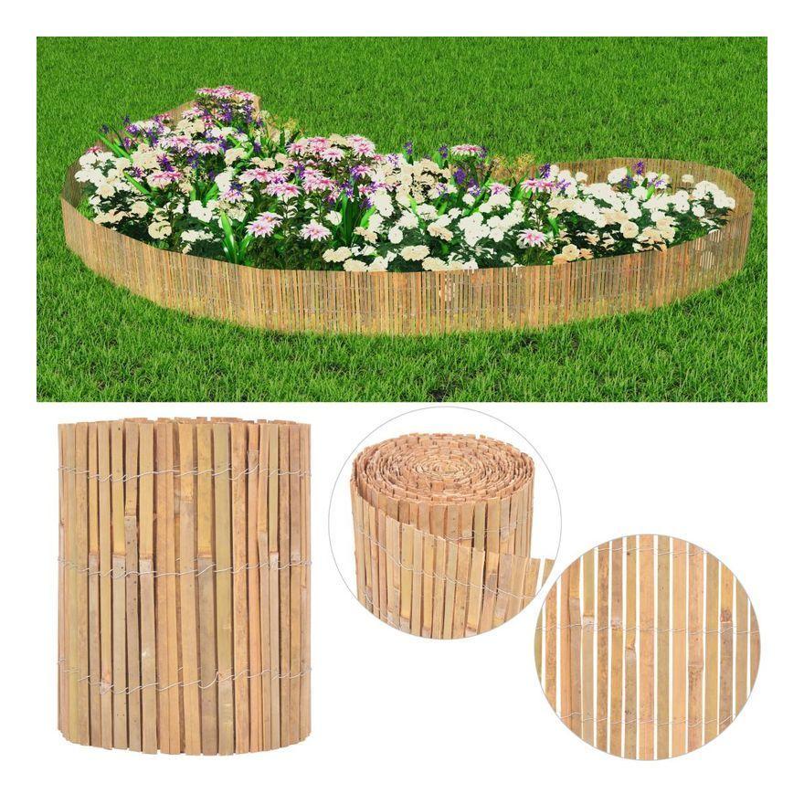 Vidaxl Cl Ture De Jardin Bambou 1000 X 30 Cm 1000 30 Bambou Cl Ture Cm De Jardin Vidaxl X En 2020 Clotures De Jardin En Bambou Bambous Jardin Bordure Jardin