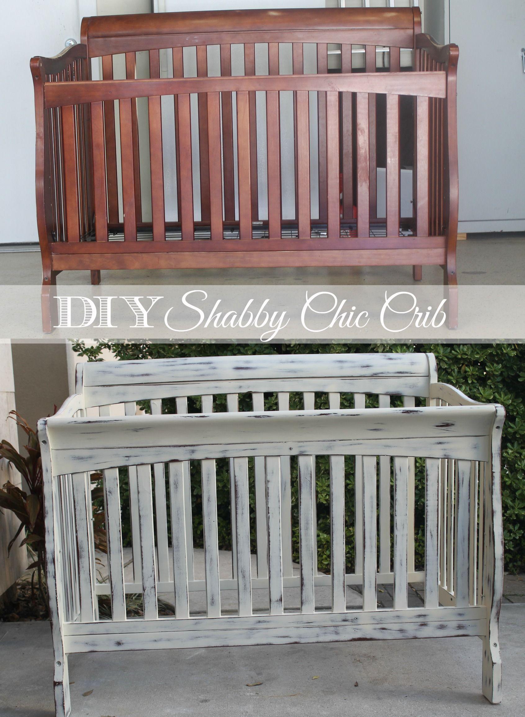 Diy Shabby Chic Crib Restoration