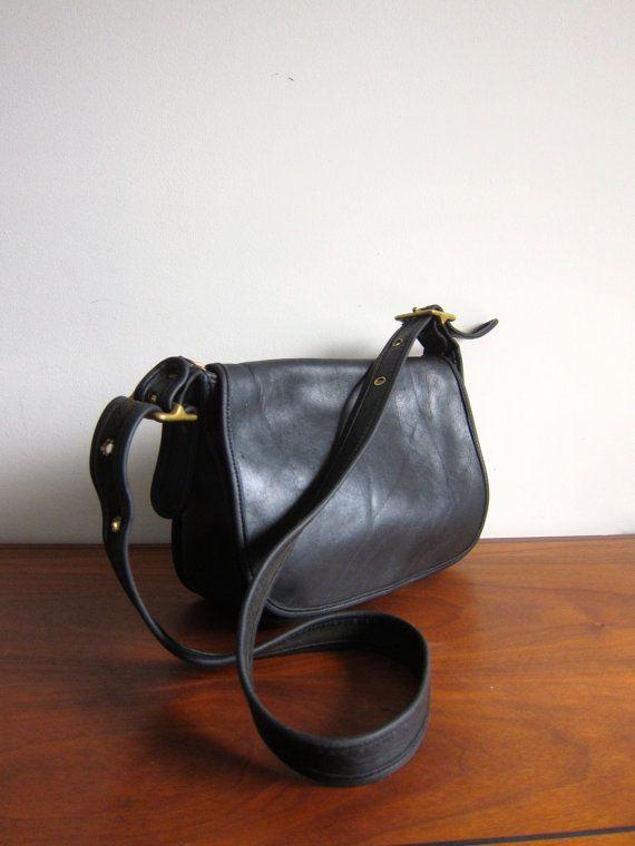 Vintage Coach Classic Patricias Legacy Bag Black by ModernSquirrel