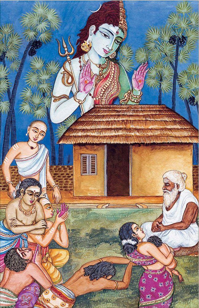 Himalayanacademy Com Hindu Art Lord Shiva Family Shiva Hindu Baba vadbhag singh ji hd wallpaper