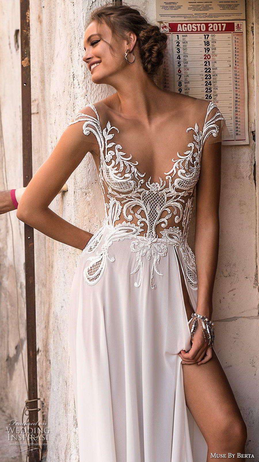 Muse by berta wedding dresses u sicily bridal campaign thời