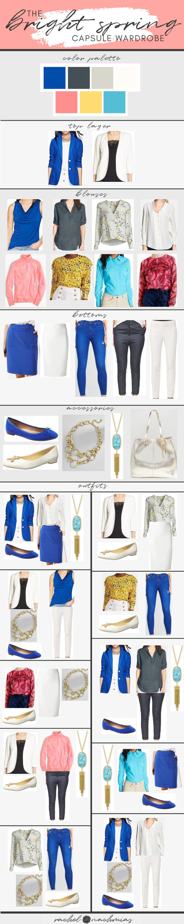 A Professional Capsule Wardrobe: Bright Spring — Philadelphia's Image Consultant   Best Dressed