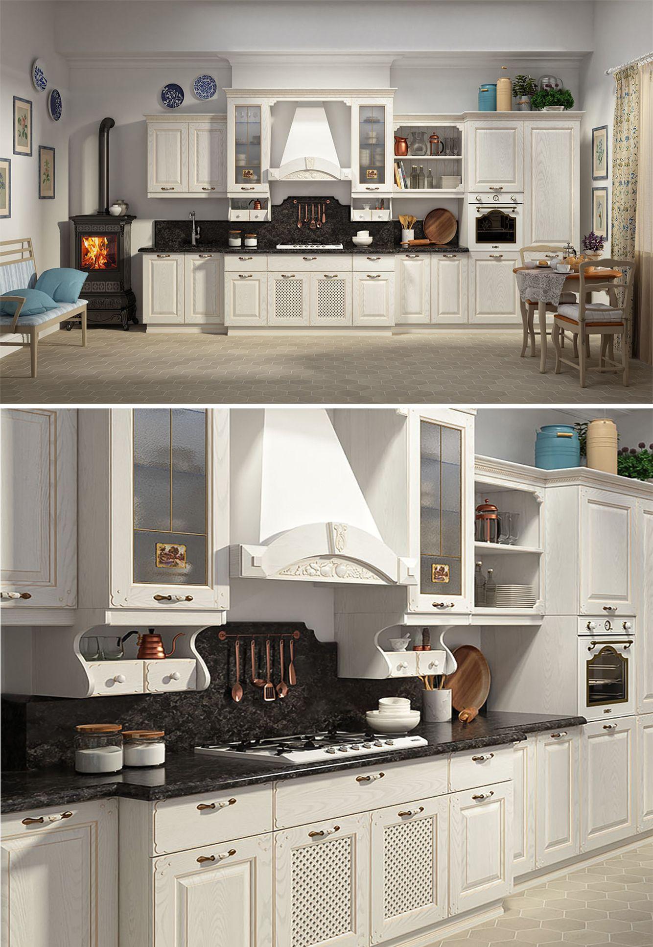 FRONTMATERIAL Massivholz Esche Küchenumbau, Haus küchen