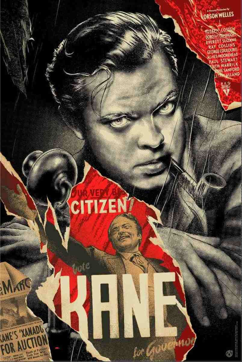 Film Review Citizen Kane 1941 Old Film Posters Movie Posters Vintage Citizen Kane Film
