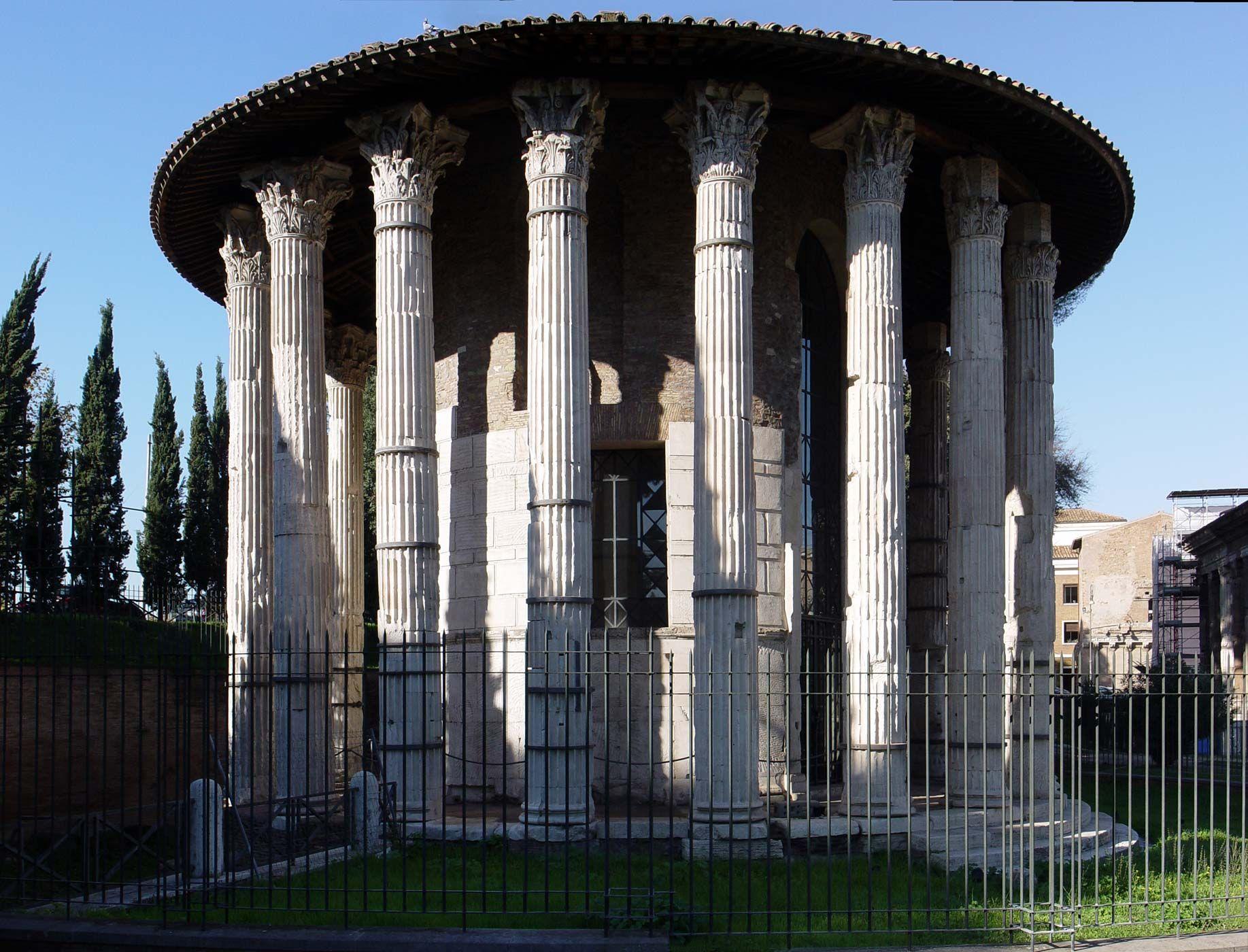 tempio di vesta roma arq antigua pinterest