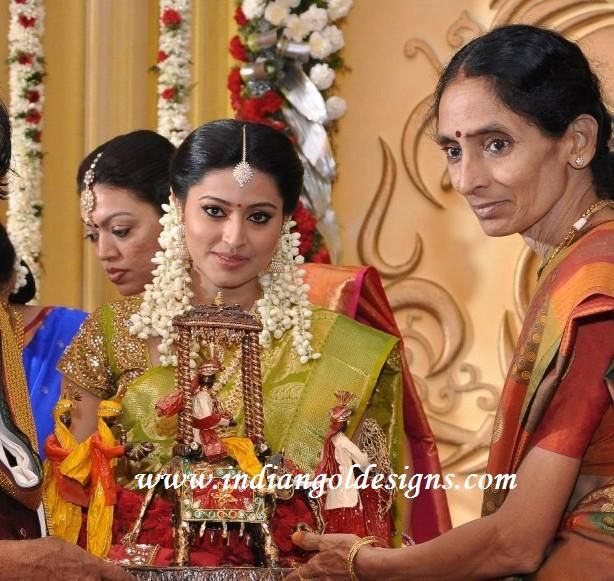 Checkout Actress sneha engagement saree-uppada pattu saree ...