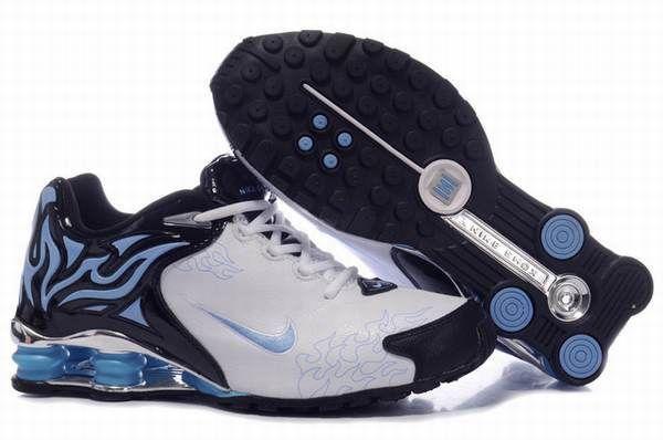 HOMME Nike Shox Dream Blanc/Bleu Marine NSD18