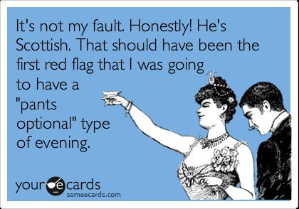 David Tennant Scottish Kilt Scottish Men Oops There Go My Pants