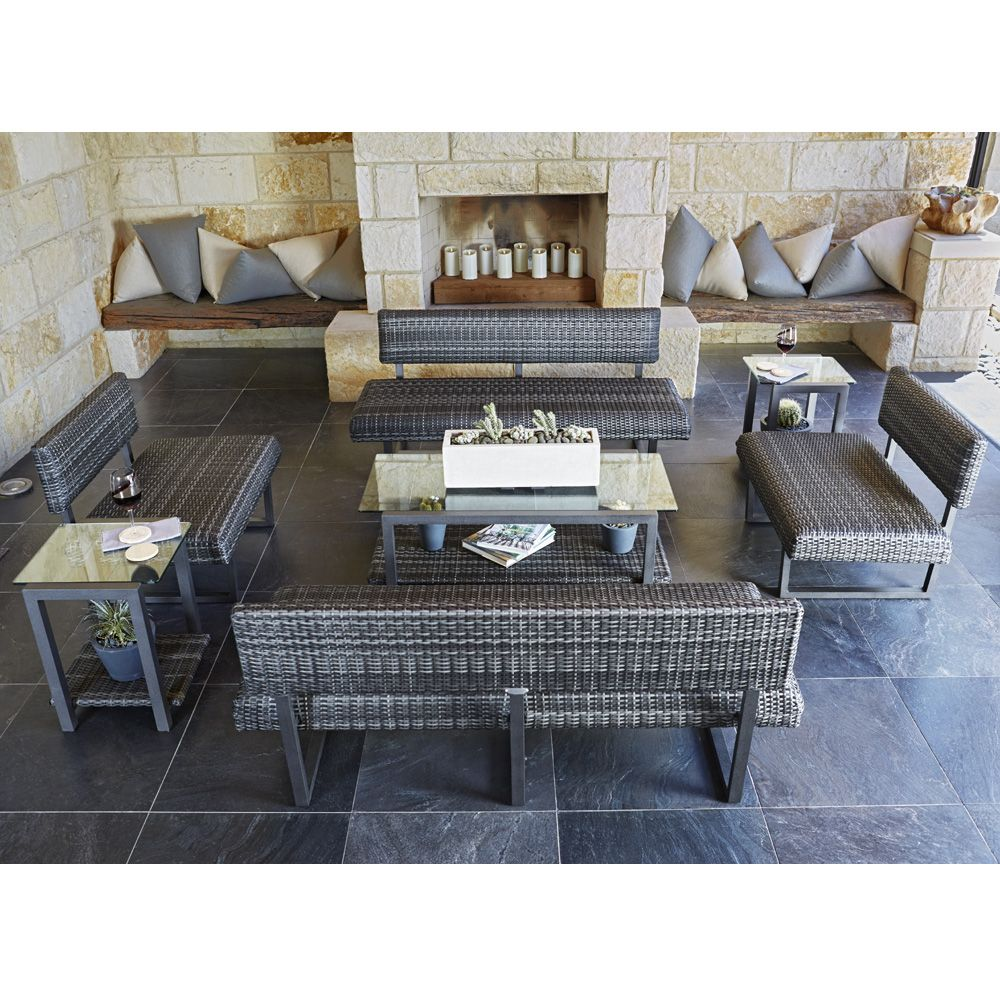 Woodard Canaveral Harper Patio Lounge Set Outdoor Furniture Sets