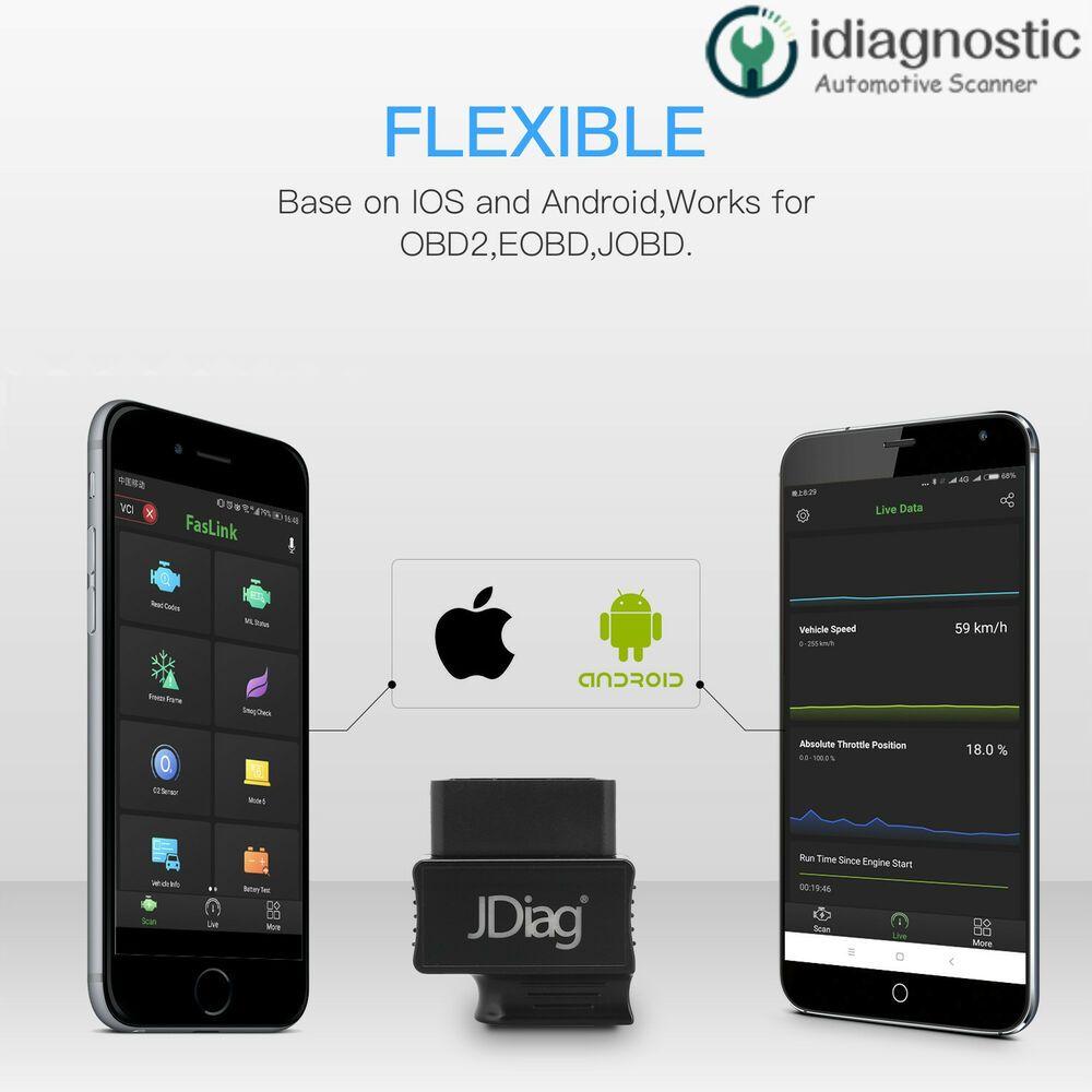 eBay Advertisement) Bluetooth OBDII Scan Faslink M2 Platinum
