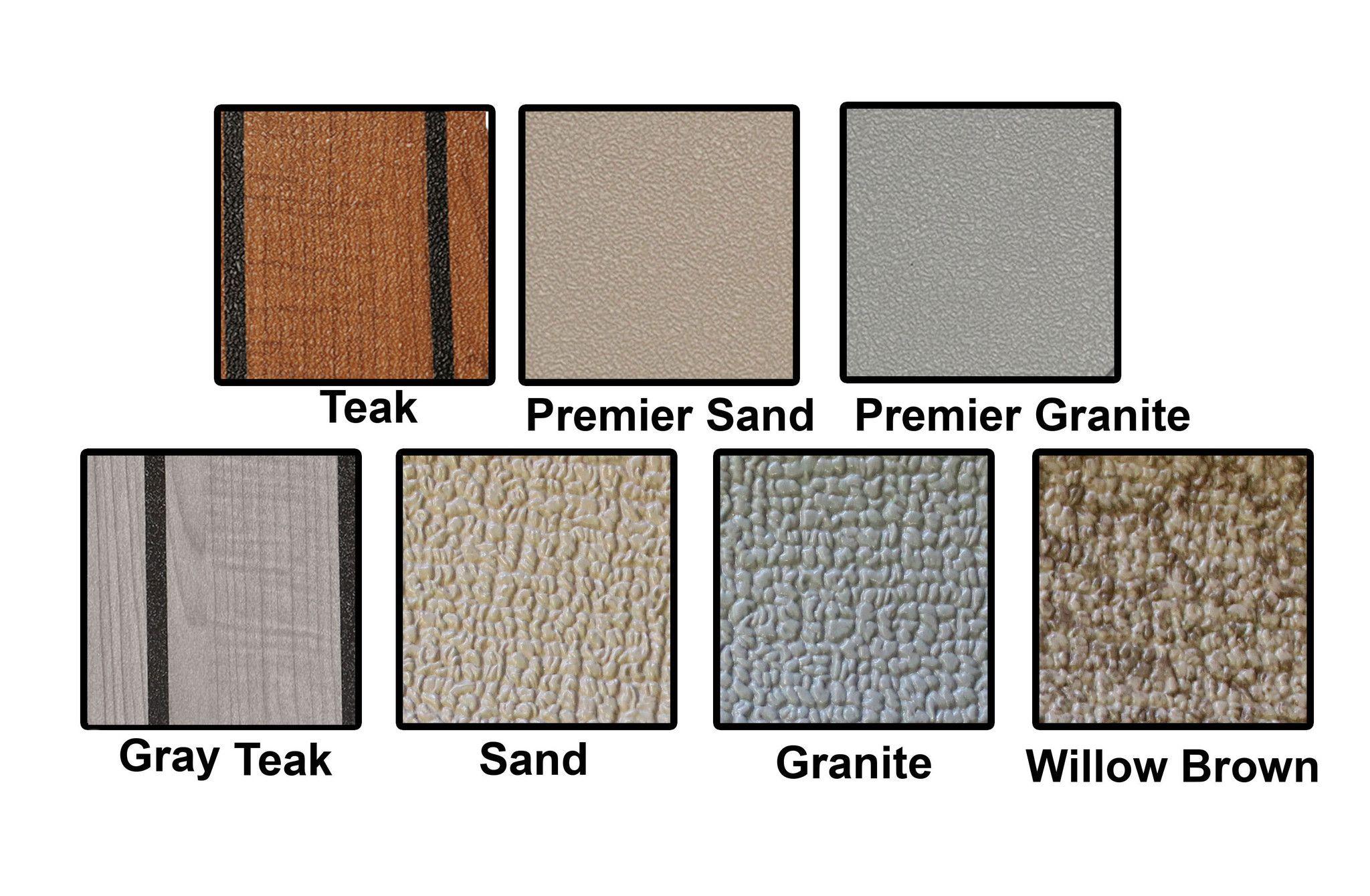 MariDeck 8.5' Wide Marine Grade Vinyl Flooring Seamless