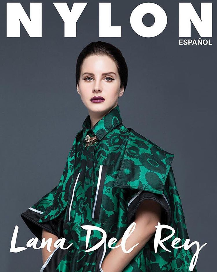 The one and only @lanadelrey is wearing the shadow flowers cape from our #kenzofw15 collection on the cover of @nylonespanol 's new issue! More infos with our #linkinbio.