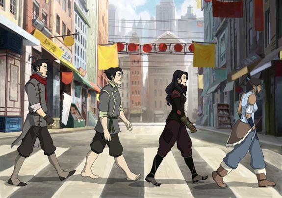Avatar Road - and my favorite character is the barefoot one!