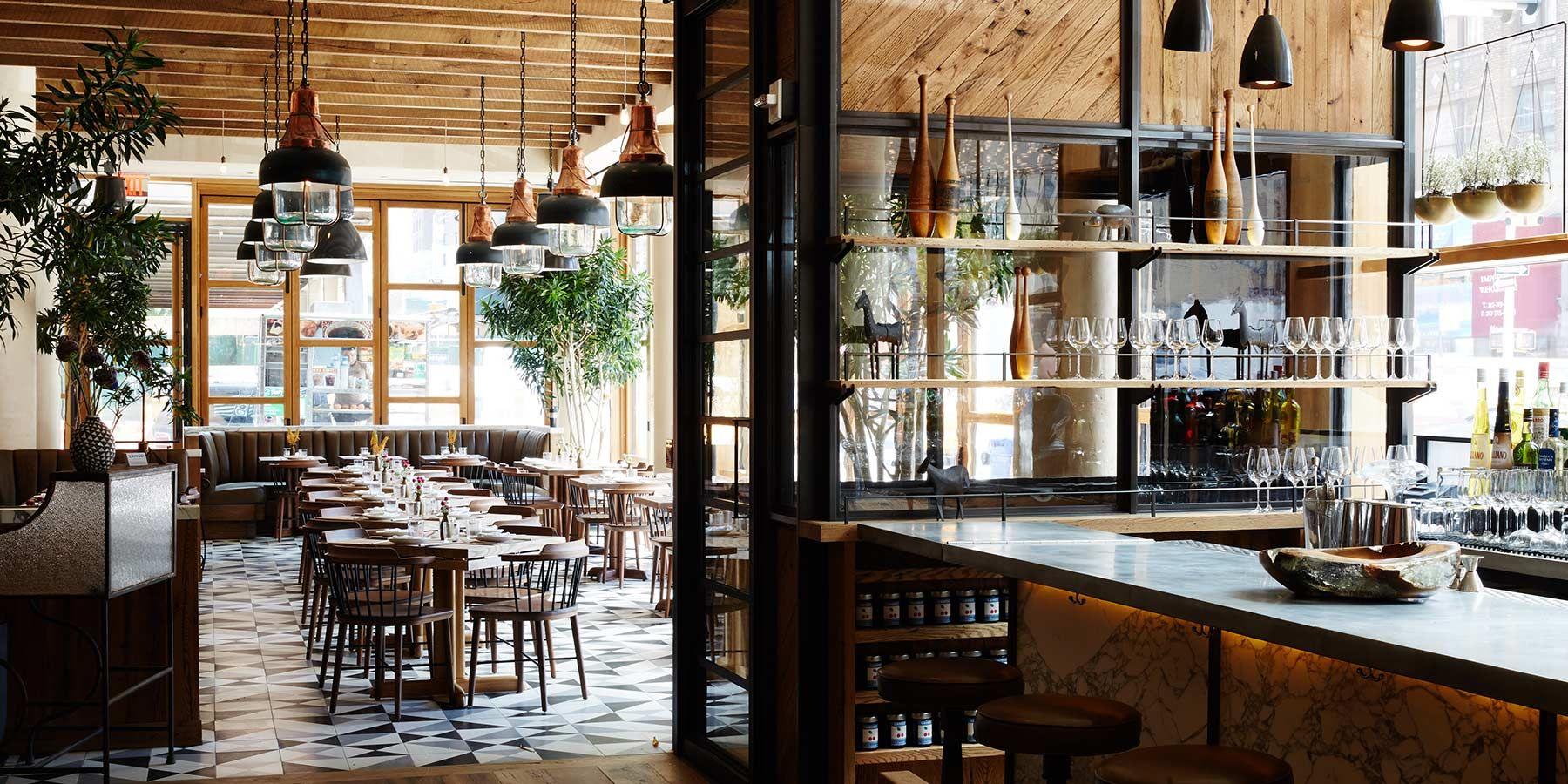 2015 Restaurant Bar Design Awards Entry LAmico New York United States The Americas