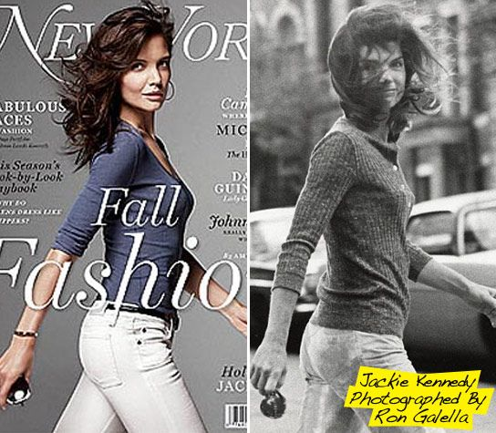 f08ea1465889b Katie Holmes Channels Jackie O — Take A Look At These Pics!