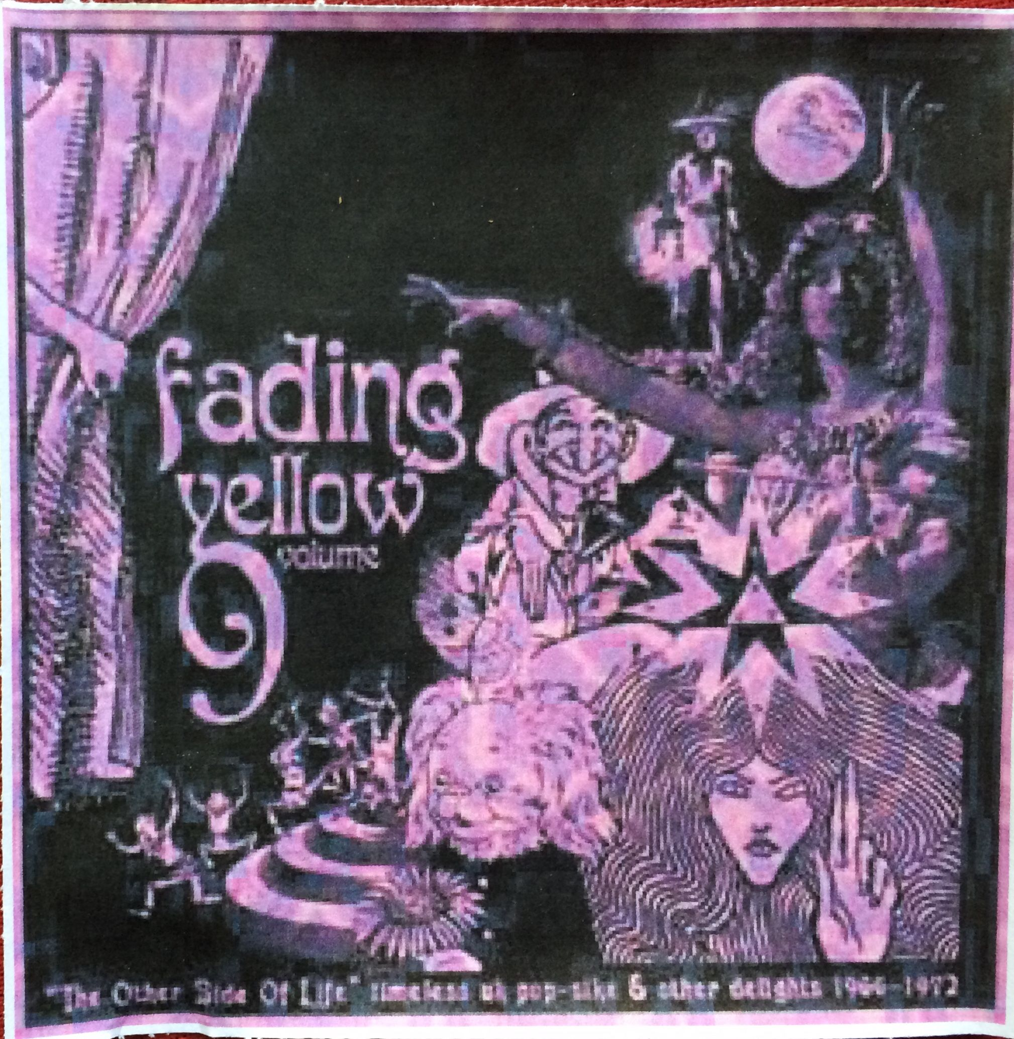 Various Artists: Fading yellow 9 CD (Flower machine records)