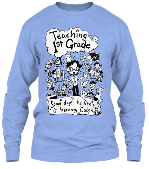 Teaching 1st Grade Some days it's like herding cats!Like