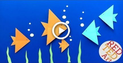 Photo of Easy Origami Fish DIY – Easy Origami for Kids (Very Easy) – Summer Paper Crafts Easy Origami …