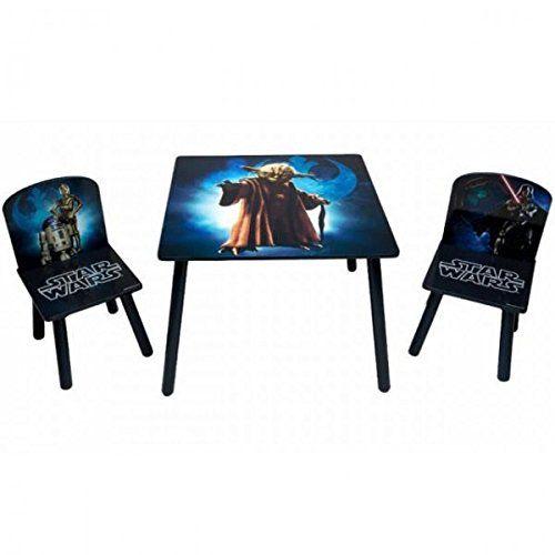 Star Wars Kinder Sitzgruppe Tisch 2 Stühle 3D