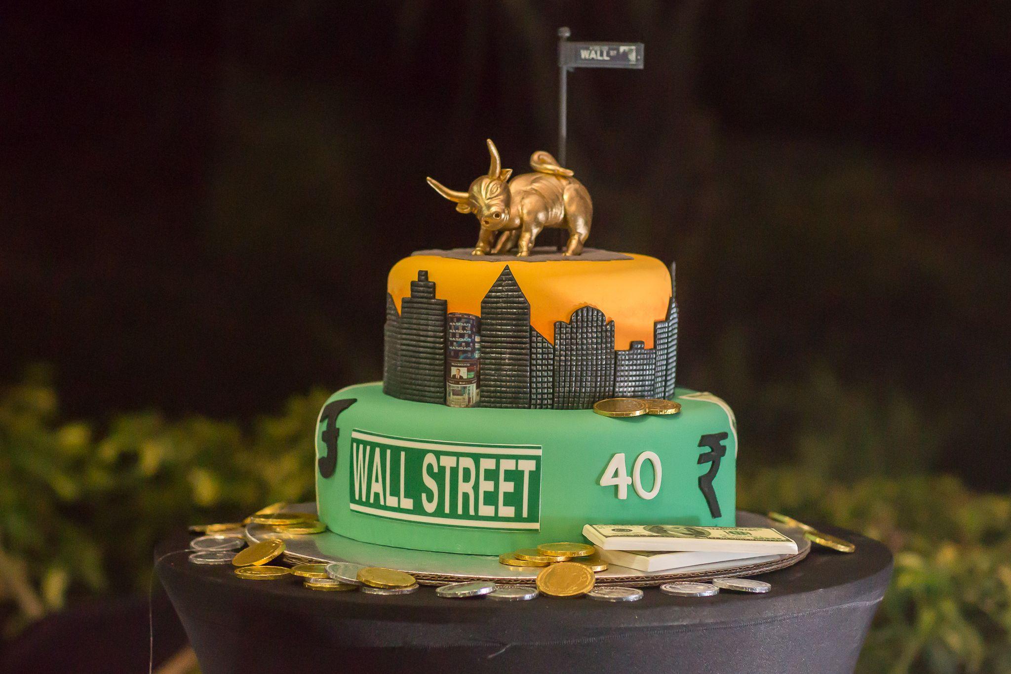 Stock Market Cake Ana Calvo Fotografia Kiefoto