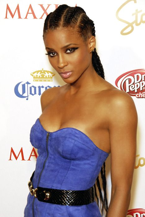 Celebrity red carpet look with #cornrows #naturalhairstyle Loved By ...