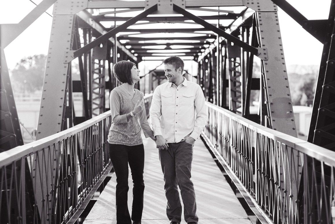 Downtown Laramie couples photography - See more on the