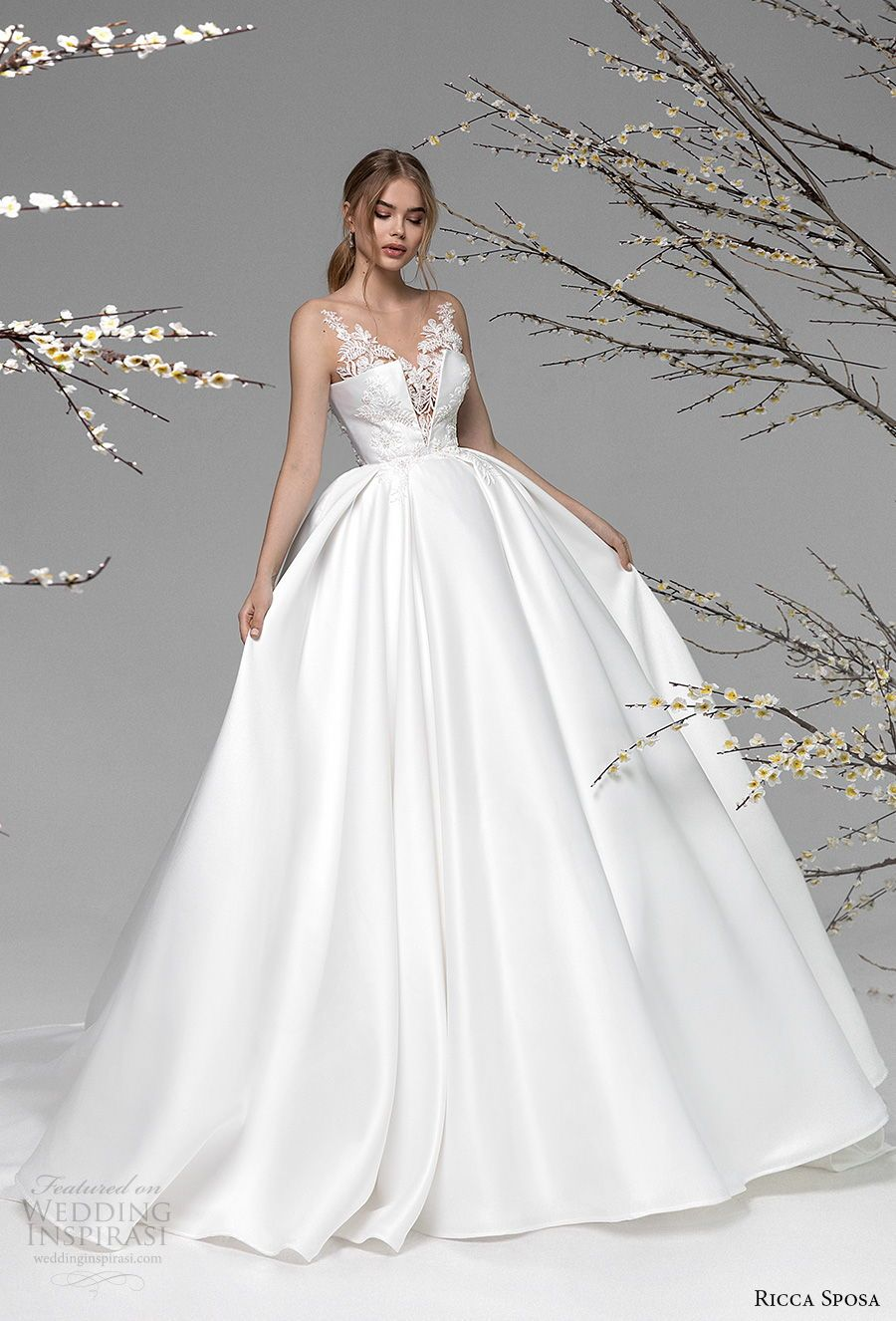 "Ricca Sposa Spring 20202021 Wedding Dresses — ""Blooming"