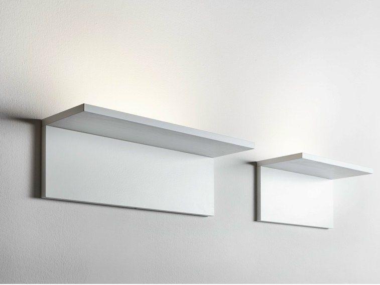 Applique a led in alluminio app eal by lucifero s denny e lidia