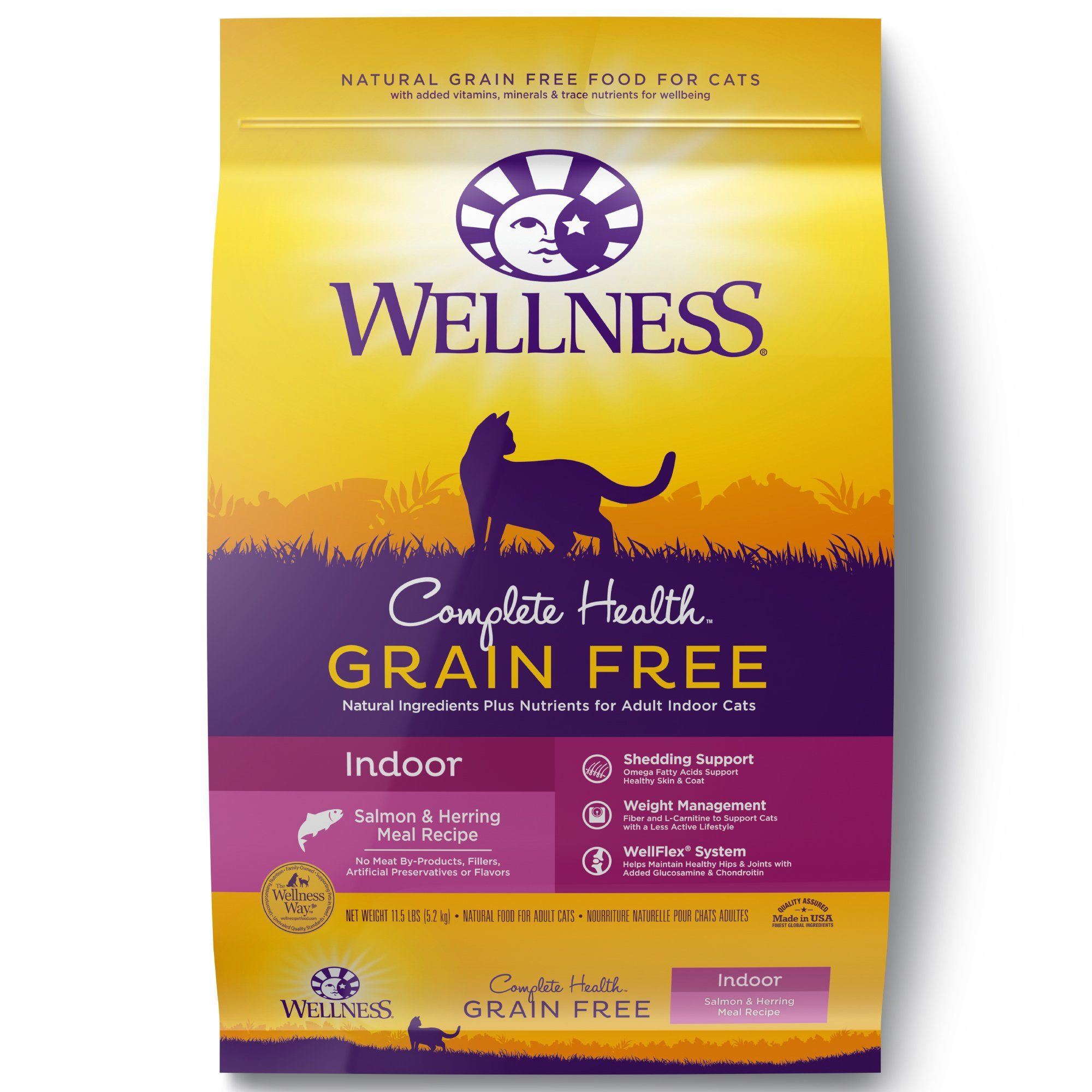 Wellness Complete Health Natural Grain Free Indoor Salmon