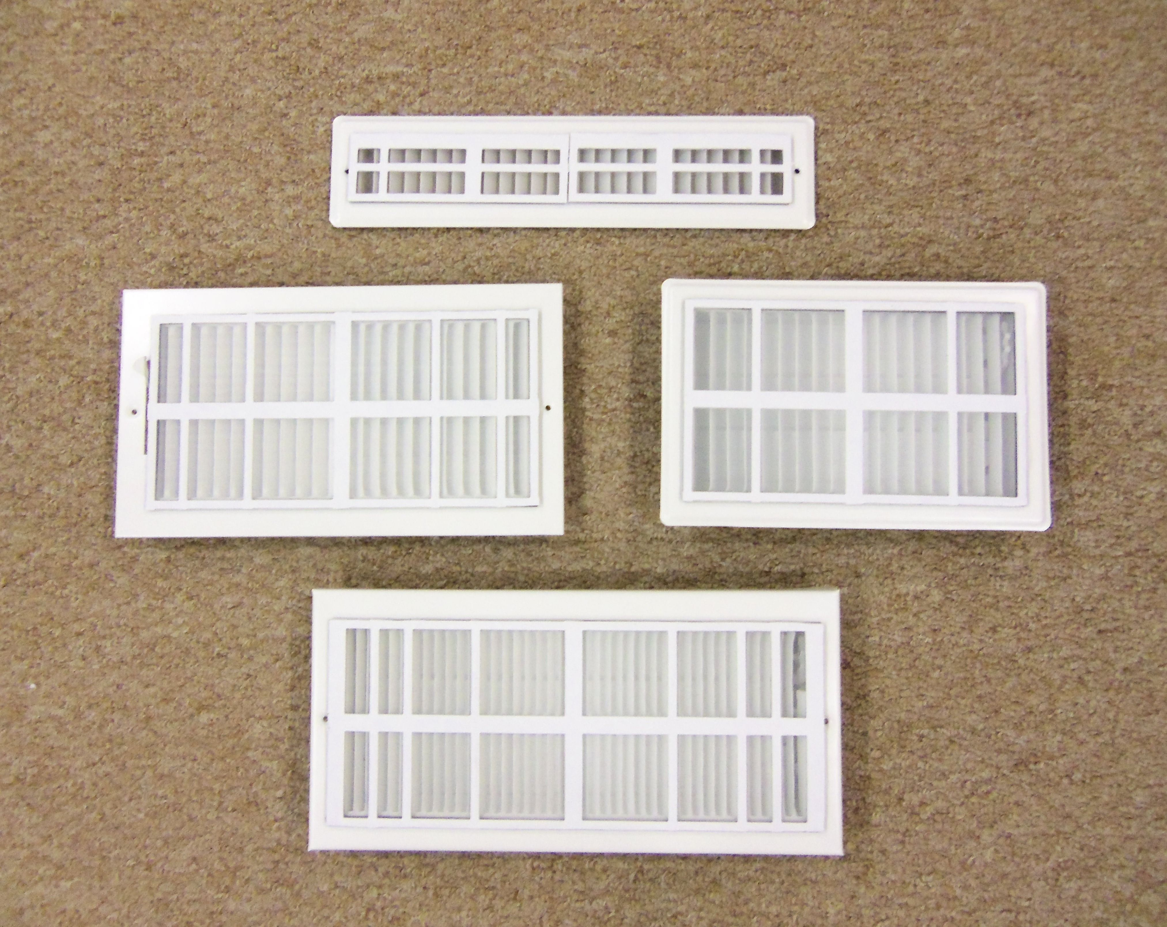 The Vent Filter is a soft PVC grid device with a