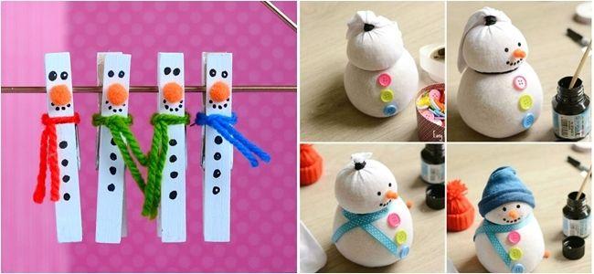 Manualidades de Navidad para niños adornos Navidad Pinterest